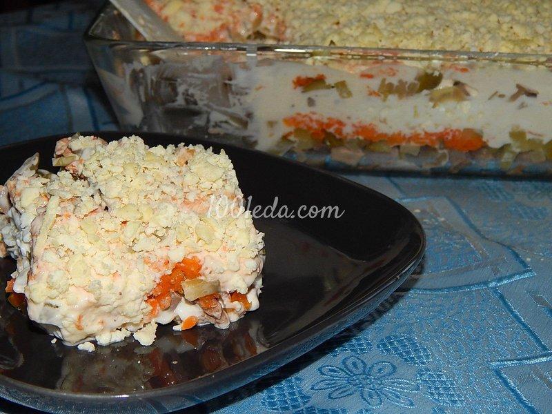 Вкуснейшие салаты из мяса рецепты с пошаговым фото