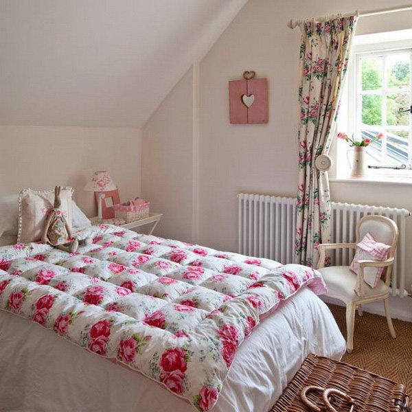 дизайн интерьера спальни в мансарде спальня в стиле кантри