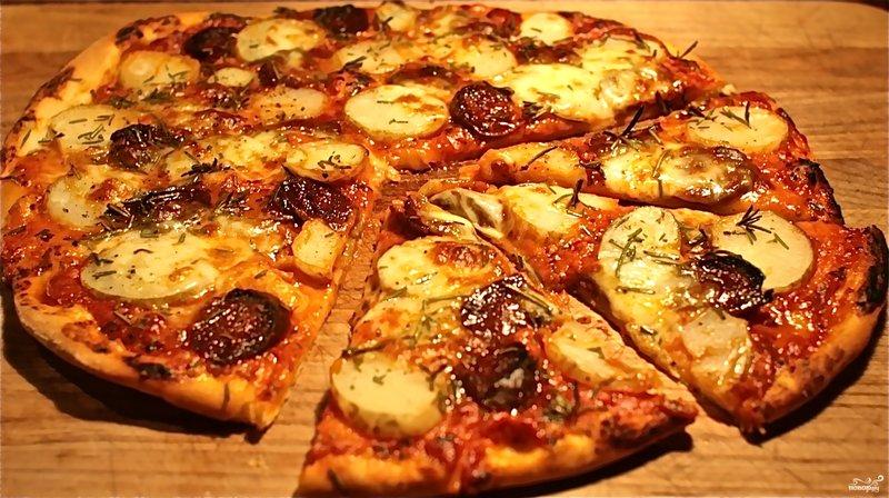 Пицца, В духовке, Блюда из картофеля, рецепты с фото на ...