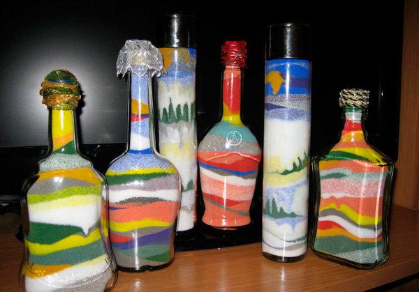 картинки декоративных бутылок