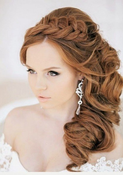 Видеоурок свадебная прическа длинные волосы