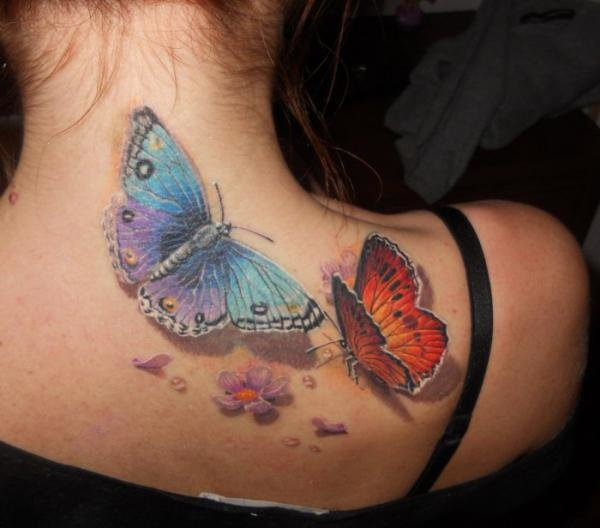 3D Butterfly Tattoos_37600_528