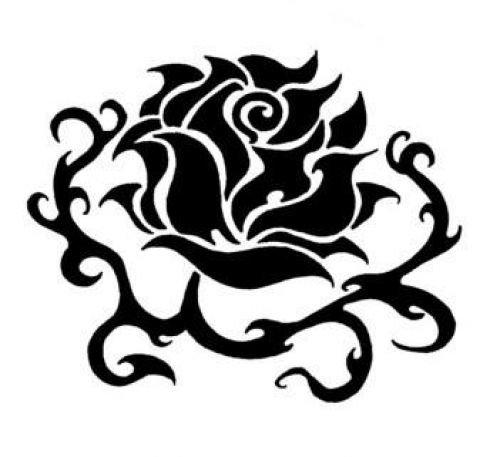 Эскиз женской татуировки цветы — Женские татуировки