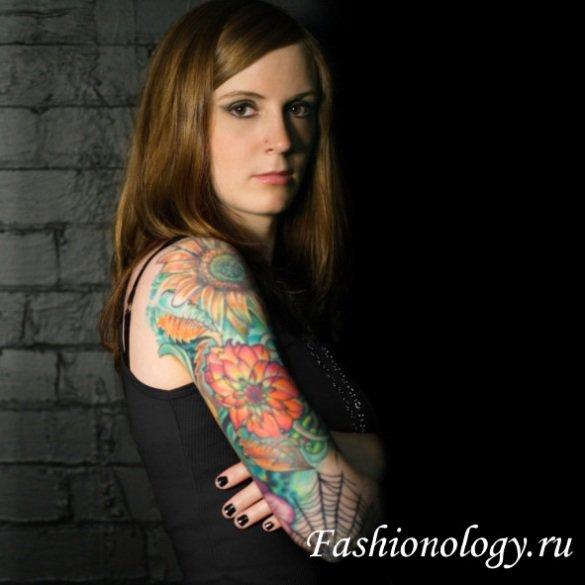 Женские татуировки на руках | Мода и дизайн интерьера