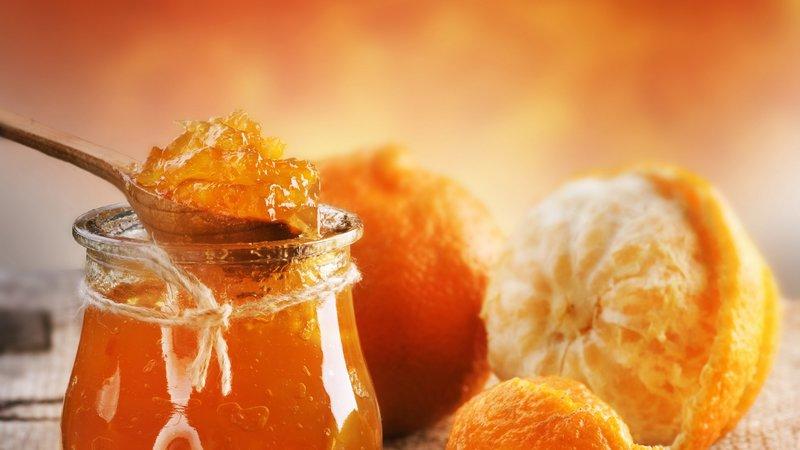 1920x1080 Обои апельсин, желе, цитрус