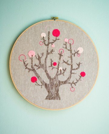 4 Seasons of Embroidery from Purl Soho + Egg Press | Purl Soho - Create