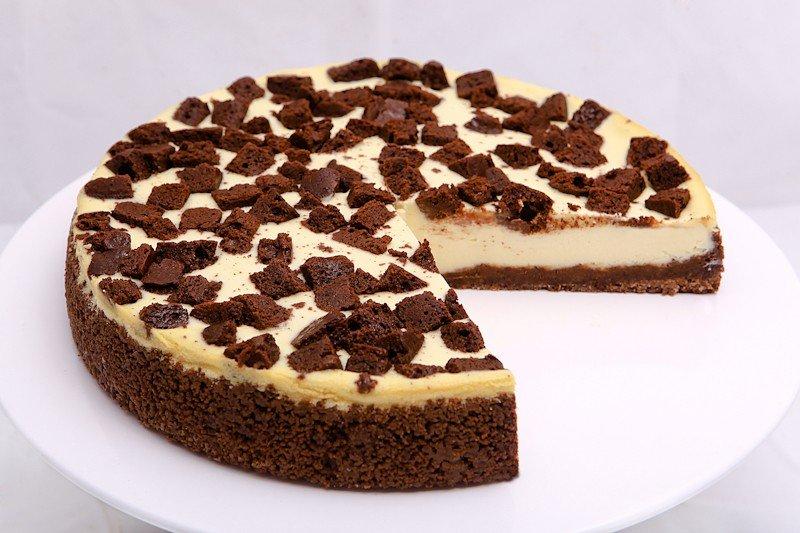 Брауни Чизкейк. Bake-n-Cake - Американская пекарня в Москве.