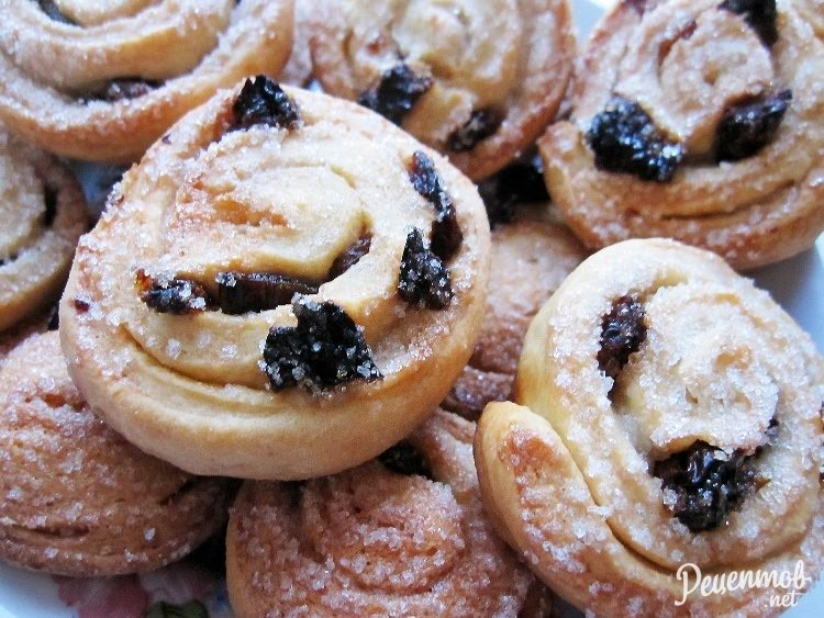 Быстрый рецепт печенья с изюмом с пошаговыми фото
