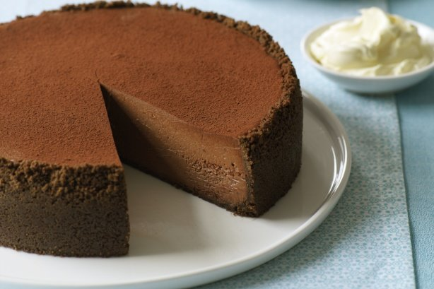 Chocolate cheesecake main image