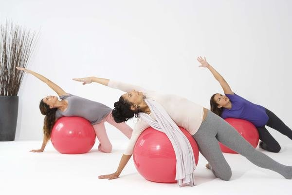 Fitball Workout Guide - Woman