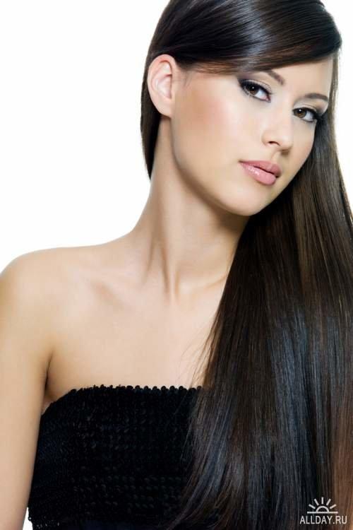 Красивые девушки фото с длинными волосами голые