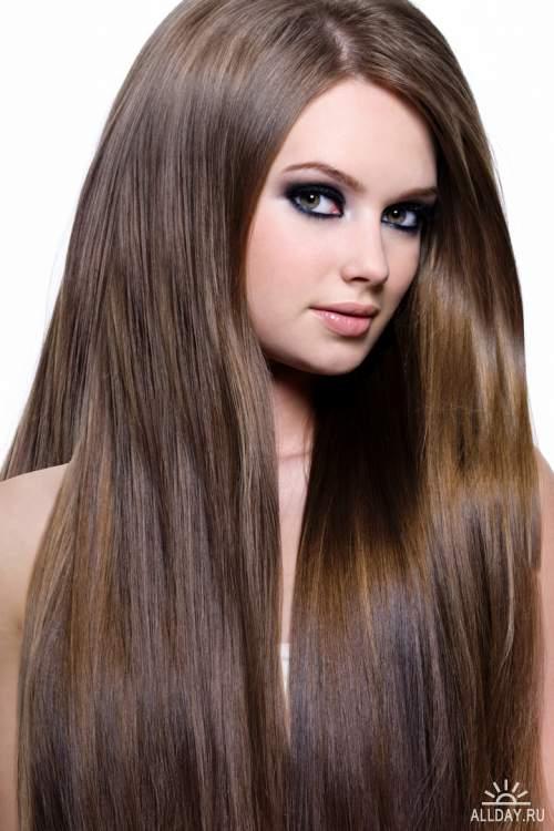 Фото девушек с красивыми прическами и длинными волосами 41