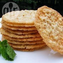 Фото рецепта: Кружевное овсяное печенье
