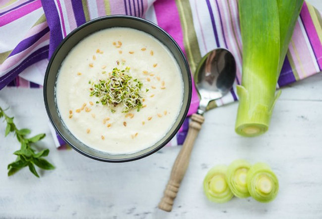 Французский суп Potage parmentier