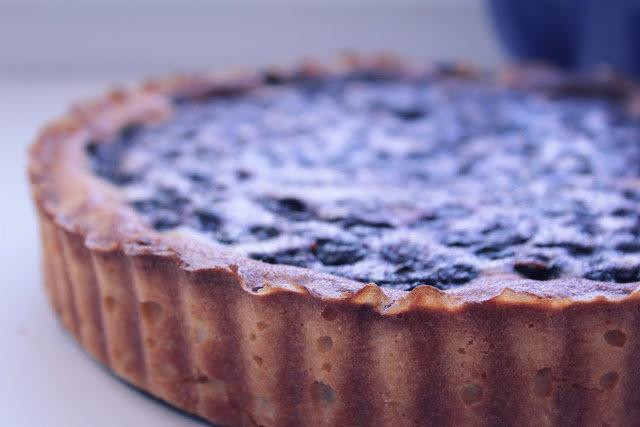 From time to time: Черничный пирог со сметаной