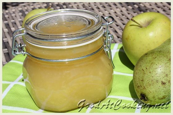 Яблочно-грушевое варенье