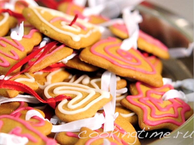 Имбирное печенье - видеорецепт | CookingTime.ru