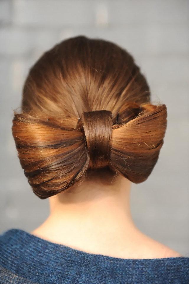 даже картинки из волос делать бантик основном используют для