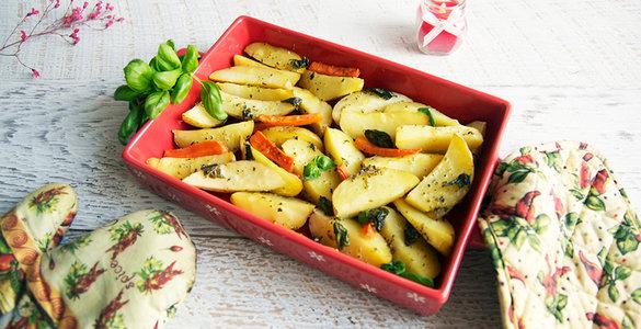 картошка в духовке, джейми оливер рецепт, картофель рецепт