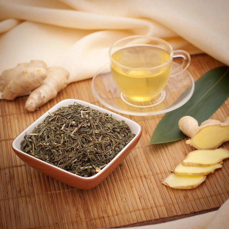 LANDTEA.RU  » Архив блога   » Зеленый чай с имбирем: польза и вред от него