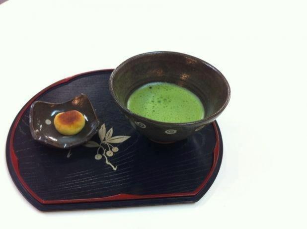 Matcha японский зеленый порошковый чай