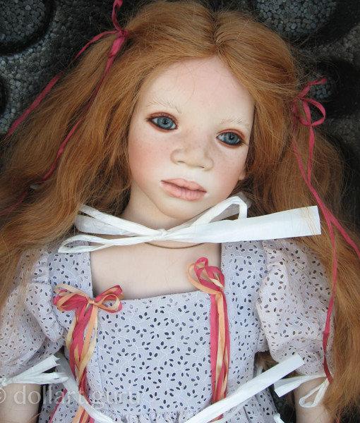 Mela. Коллекционная фарфоровая кукла Annette Himstedt   Doll Art Guru