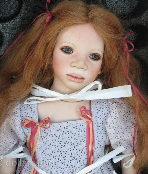 Mela. Коллекционная фарфоровая кукла Annette Himstedt | Doll Art Guru