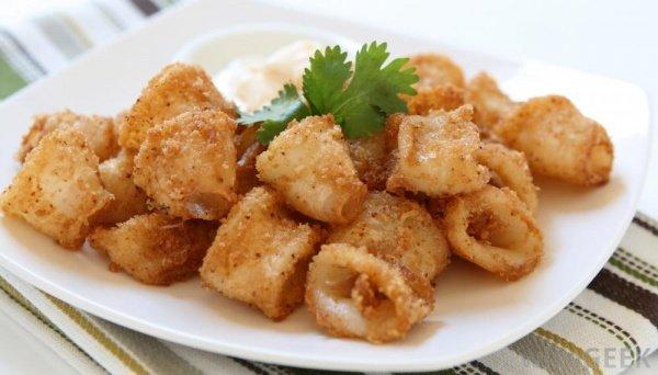Морепродукты: Секрет приготовления кальмаров в кляре