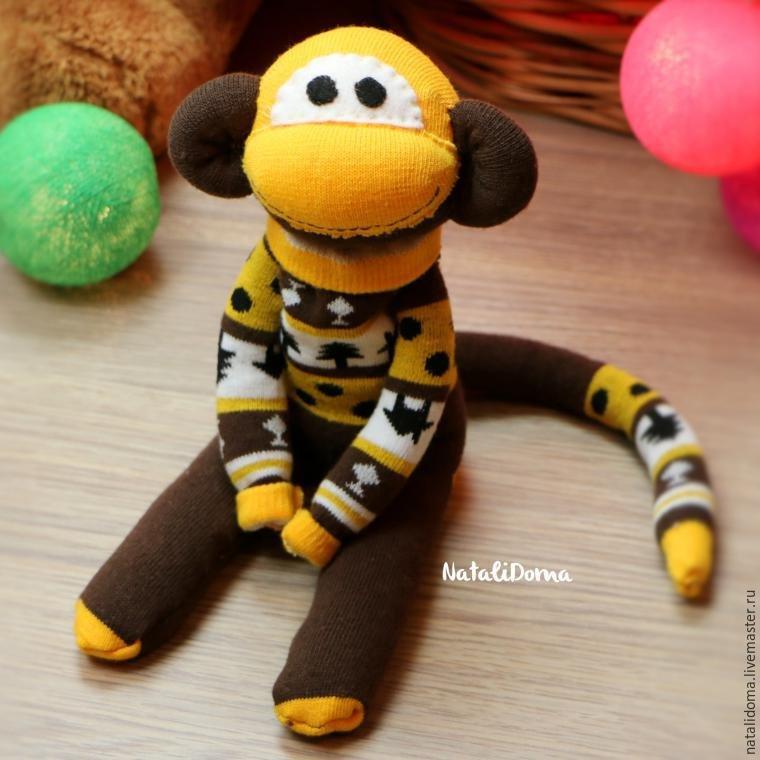 обезьянка, новый год