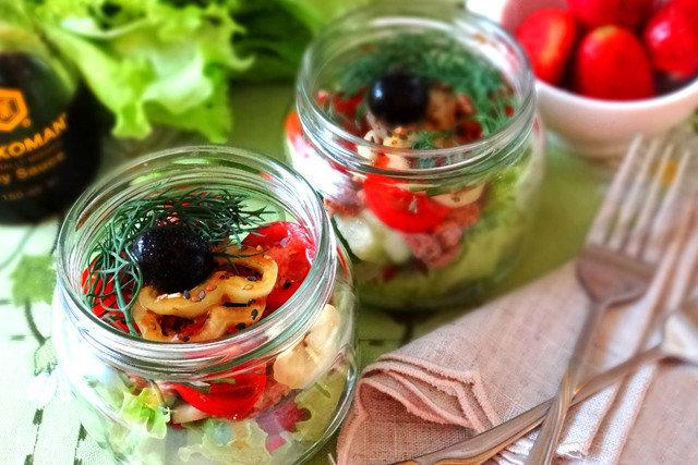 Овощной салат с редисом