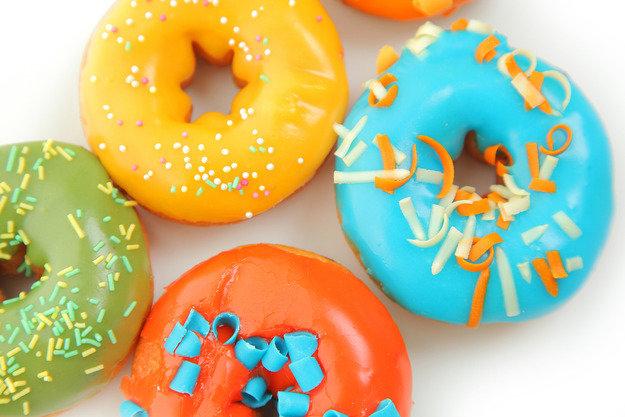 Пончики или донатсы: история с глазурью