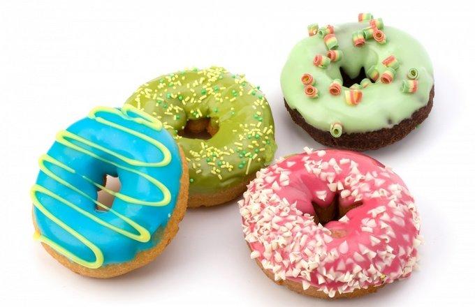 Пончики в глазури «Донатс»