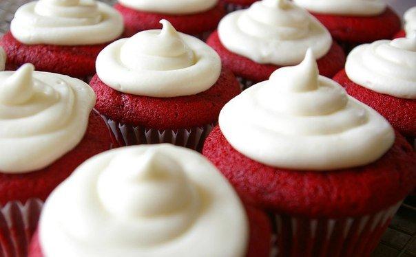 Праздничные капкейки на 14 февраля  | Рецепты | WMAG #1