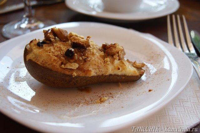 Рецепт груша, запеченная с рикоттой