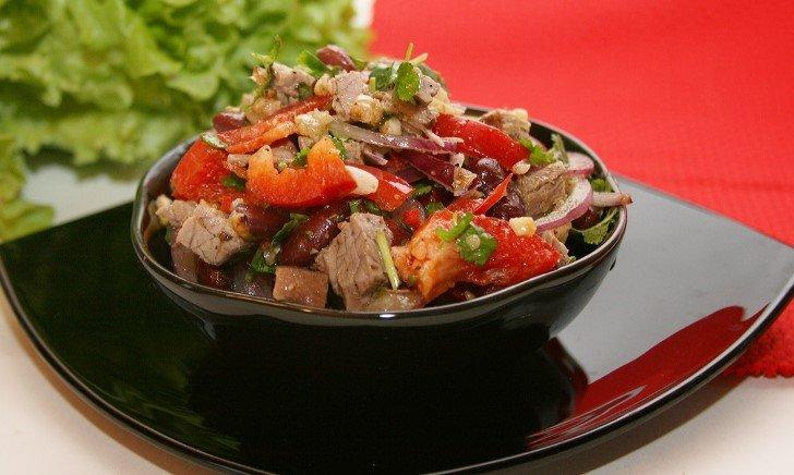 Грузинские салати с фото