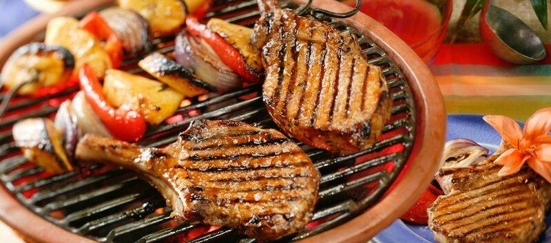 Рецепт карибских стейков из свинины