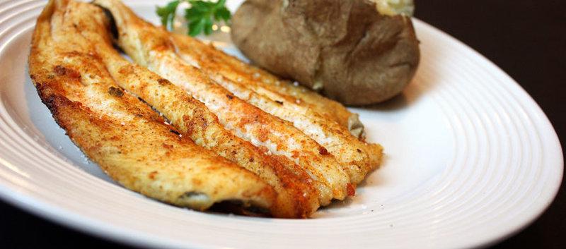 Рецепт запеченой форели с картошкой