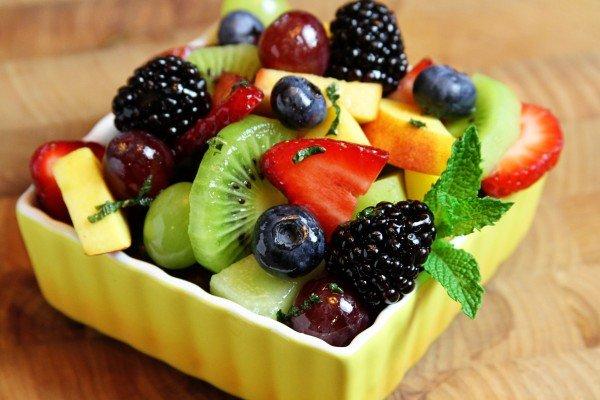 Салат можно готовить из любых фруктов