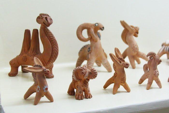 Самаркандская глиняная игрушка. Усто Абдурахим Мухтаров