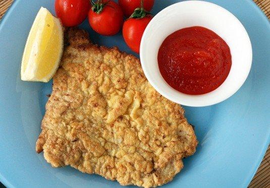 Шницель из свинины - кулинарный пошаговый рецепт с фото