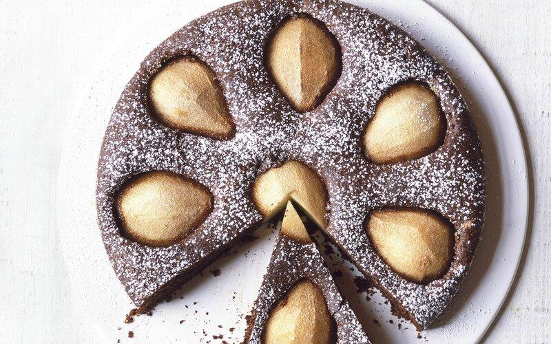 Шоколадный торт с грушами   РЕЦЕПТЫ