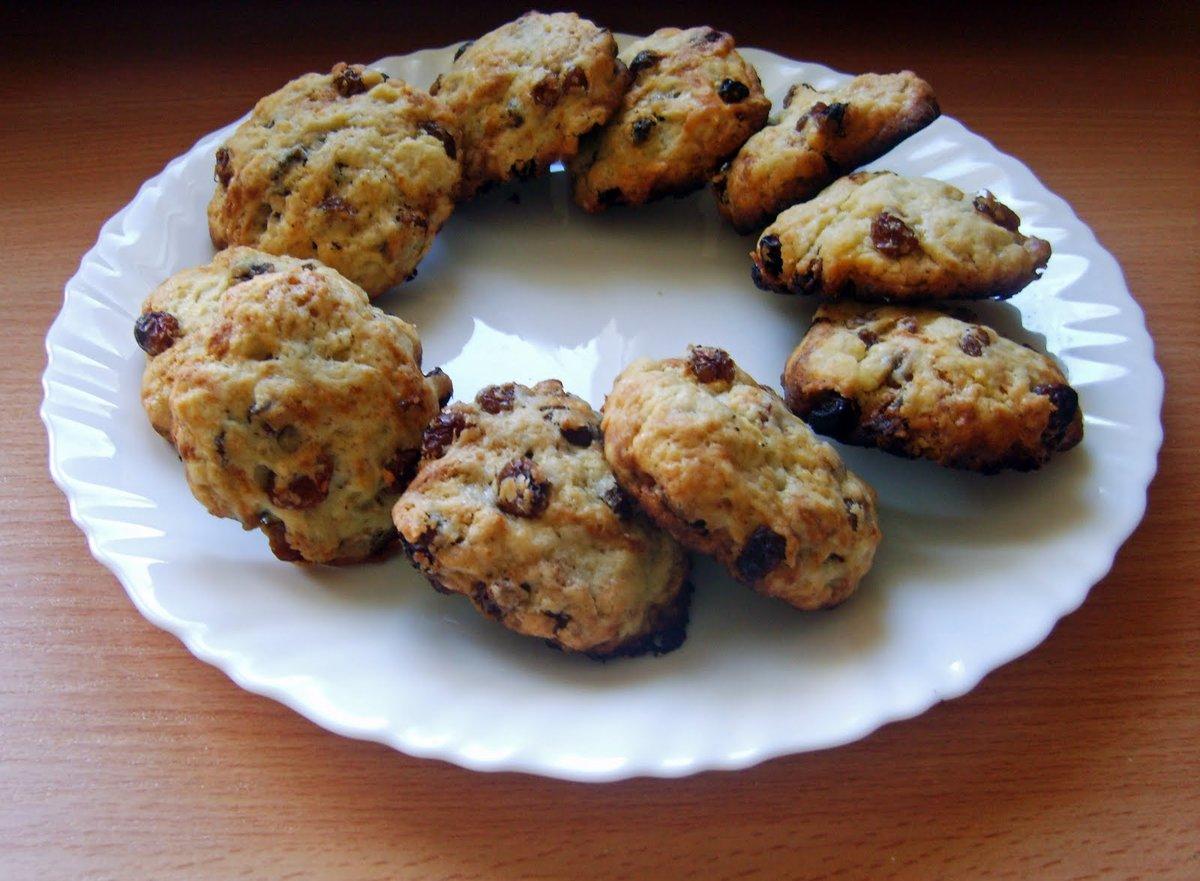 Stewie's cooking blog: Печенье с изюмом