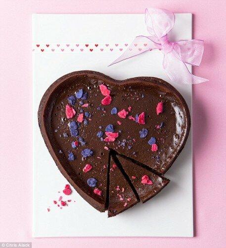 Торт-мусс «Шоколадное сердце»
