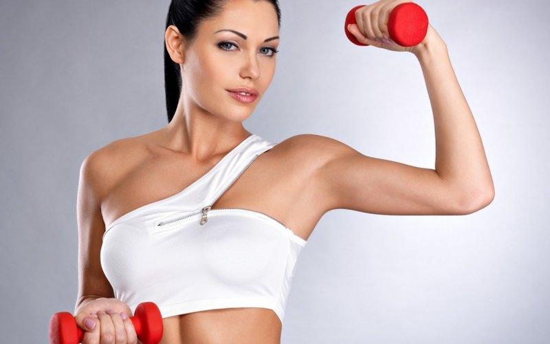 Упражнения для рук. Фитнес для домохозяек