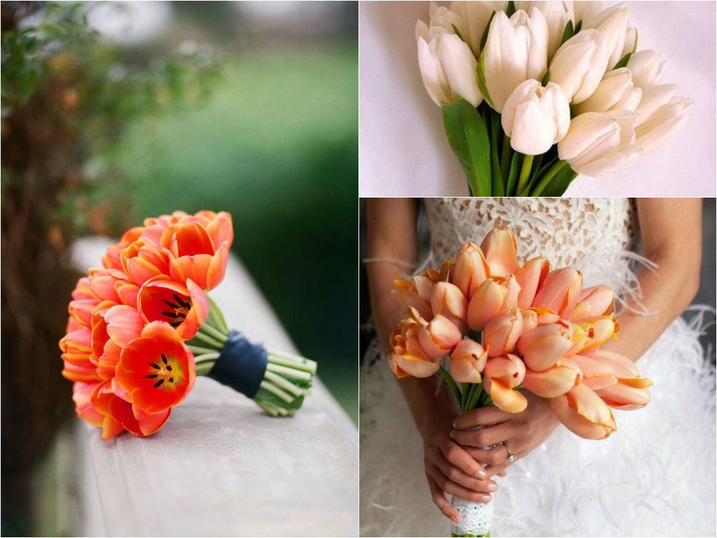 Букет невесты из маленьких тюльпанов фото, цветов дом