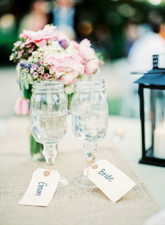 8 креативных дизайнов свадебных бокалов