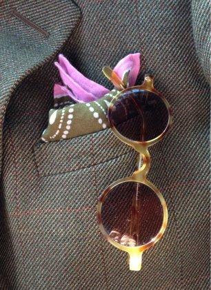 Аксессуар жениха - очки