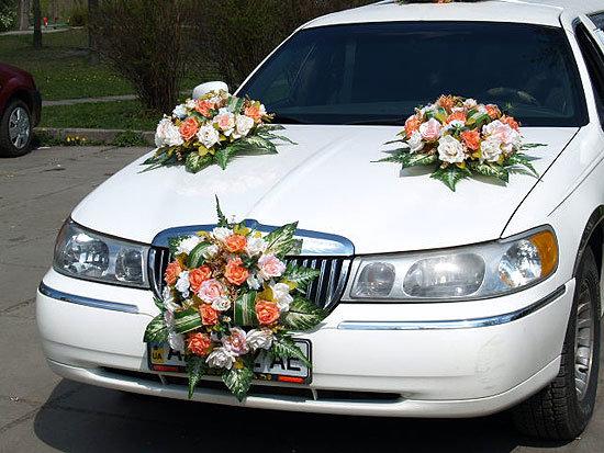 allpix.com / картинки свадебного лимузина