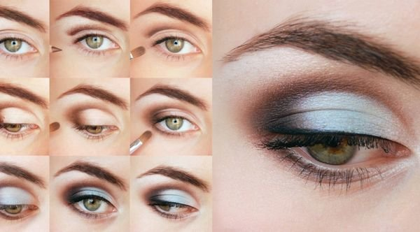 Дневной макияж глаз для карих глаз: в чем особенность?