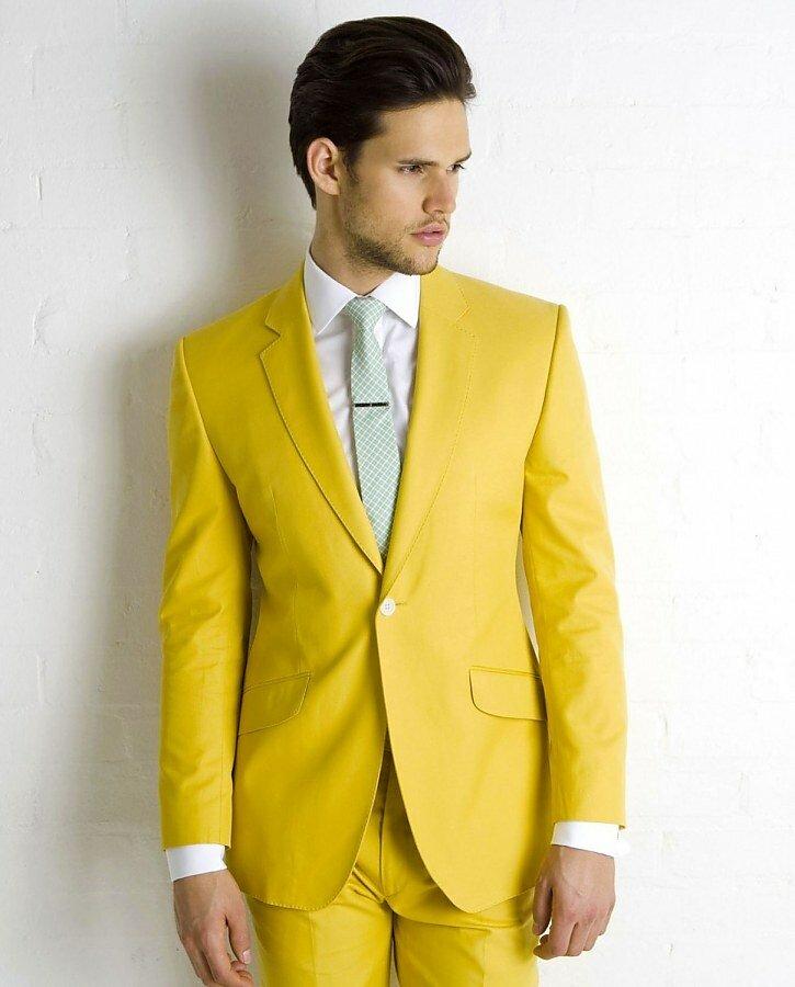 Дресс-код для жениха: выбираем яркий костюм